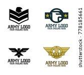 army logo design vector | Shutterstock .eps vector #778185661
