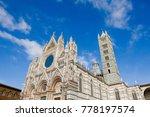 siena gothic renaissance... | Shutterstock . vector #778197574