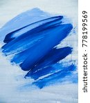 abstract blue color painting... | Shutterstock . vector #778199569