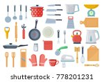 kitchen tool flat icon... | Shutterstock .eps vector #778201231