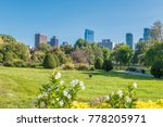 Boston Usa Public Garden ...