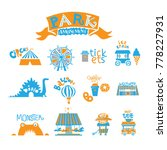 seth amusement park for the... | Shutterstock .eps vector #778227931