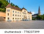 vaduz  liechtenstein   may 28 ... | Shutterstock . vector #778237399