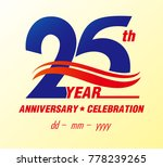 15 anniversary colors with... | Shutterstock .eps vector #778239265
