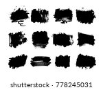 grunge post stamps collection ... | Shutterstock .eps vector #778245031