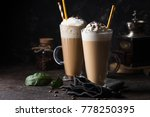 cold coffee drink | Shutterstock . vector #778250395