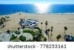 venice beach los angeles... | Shutterstock . vector #778253161