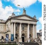 Small photo of LONDON, UK - CIRCA JUNE 2017: Tate Britain art gallery (high dynamic range)