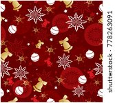 vector seamless pattern...   Shutterstock .eps vector #778263091