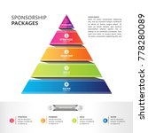 sponsorship packages  abstract... | Shutterstock .eps vector #778280089
