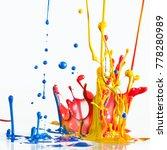 fun conceptual colorful dancing ... | Shutterstock . vector #778280989