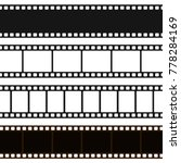 film black and white strip.... | Shutterstock .eps vector #778284169