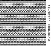 christmas seamless pattern.... | Shutterstock . vector #778287451