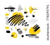 abstract poster trendy art... | Shutterstock .eps vector #778295791
