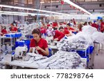 textile cloth factory working... | Shutterstock . vector #778298764