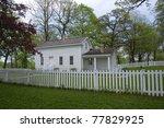 front facade of john h stevens...   Shutterstock . vector #77829925