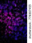 dark purple vertical triangle... | Shutterstock . vector #778307455