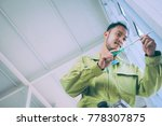 building construction worker... | Shutterstock . vector #778307875