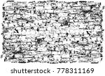 grunge black and white urban... | Shutterstock .eps vector #778311169