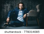 vogue shot of a handsome man... | Shutterstock . vector #778314085