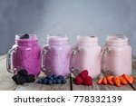 selection of colorful detox... | Shutterstock . vector #778332139