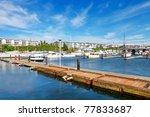des moines beach park. marina... | Shutterstock . vector #77833687