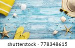 high angle view of summer ... | Shutterstock . vector #778348615