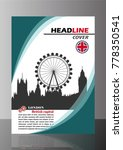 cover page and brochure design... | Shutterstock .eps vector #778350541