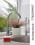 kitchen sink and view from the...   Shutterstock . vector #778359907