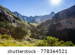Drakensburg Mountains In South...