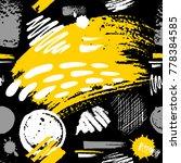 creative seamless pattern.... | Shutterstock .eps vector #778384585