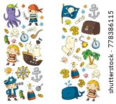 pirate adventures pirate party...   Shutterstock .eps vector #778386115