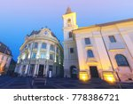 image of city hall of sibiu in... | Shutterstock . vector #778386721