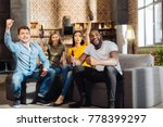 our  victory. four appealing... | Shutterstock . vector #778399297