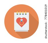 engagement circle flat   Shutterstock .eps vector #778401019