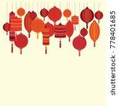 vector illustration of red... | Shutterstock .eps vector #778401685