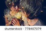 young woman surrounded by... | Shutterstock . vector #778407079