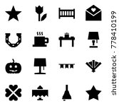 origami style icon set  ... | Shutterstock .eps vector #778410199