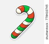vector illustration. christmas... | Shutterstock .eps vector #778410745