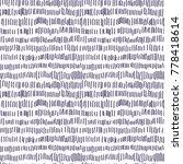 vector hand drawing lines... | Shutterstock .eps vector #778418614