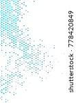 light blue vertical abstract... | Shutterstock . vector #778420849