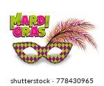 mardi gras   fat tuesday... | Shutterstock .eps vector #778430965