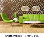 modern interior room with nice... | Shutterstock . vector #77843146