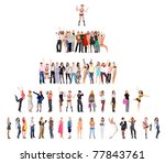 lines hierarchy groups | Shutterstock . vector #77843761