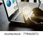 business women hand holding... | Shutterstock . vector #778463071