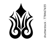 tattoo tribal  art designs.... | Shutterstock .eps vector #778467655