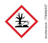 hazardous to aquatic environment | Shutterstock .eps vector #778486537