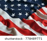 american flag background | Shutterstock . vector #778489771