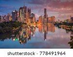 brisbane. cityscape image of... | Shutterstock . vector #778491964