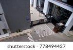 metal black gate. footage....   Shutterstock . vector #778494427